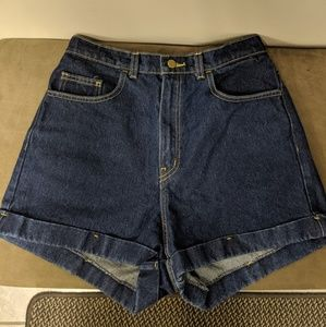 American Apparel Shorts - American Apparel high waisted jeans